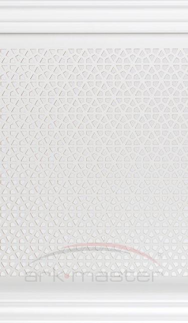 Экран Классик Белый Кристалл